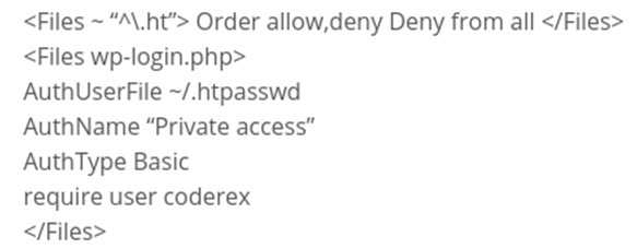 htpasswd generator - WordPress Login Page: First Line of Defense Against Attackers