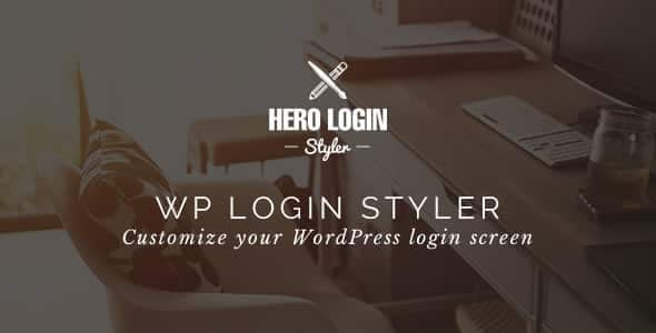 Hero Login Styler