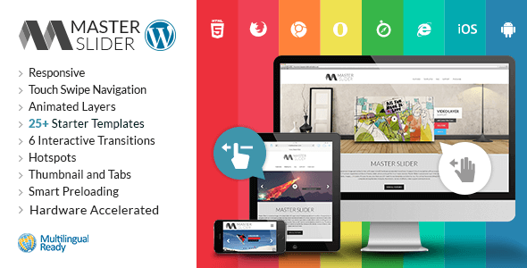 Master Slider: Premium WordPress Slider Plugin