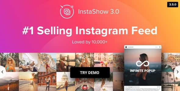 InstaShow - WordPress Instagram Feeds Plugins
