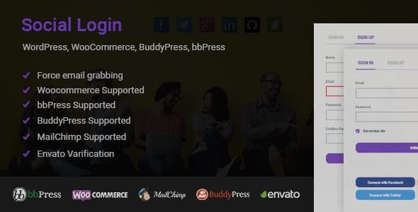 Social Login - WordPress Social Login Plugins