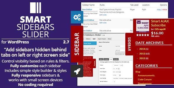 Smart Sidebars Slider