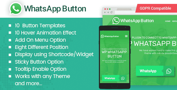 whats app button - How to Add WhatsApp Button on WordPress Website? (Step by Step Guide)