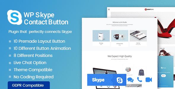 Best WordPress Skype Contact Button Plugins - WP Skype Contact Button