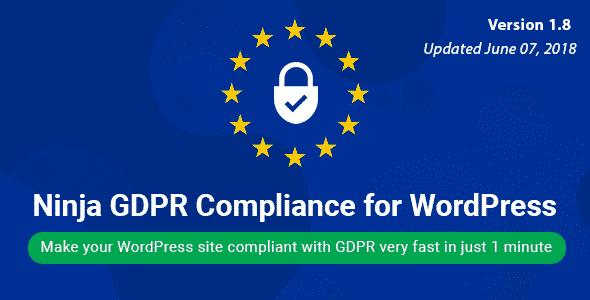 Best WordPress GDPR Compliance Plugins: Ninja GDPR Compliance