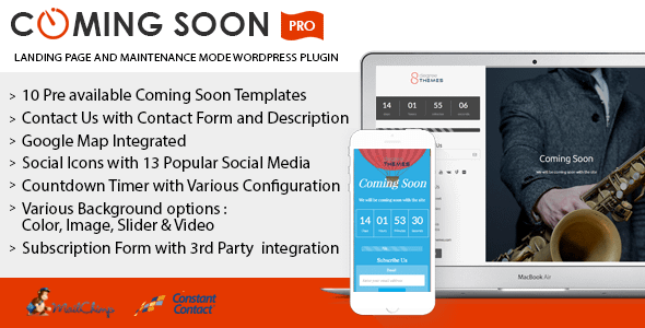 coming soon landing page and maintenance mode wordpress plugin - 5+ Best Coming Soon & Maintenance Mode Plugins for WordPress