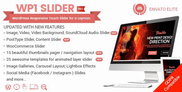 WordPress Slider Plugin: WP1 Slider