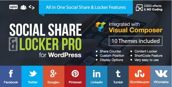 social share locker pro - 5+ Best WordPress Social Media Share/Counter Plugins (Premium Collection)
