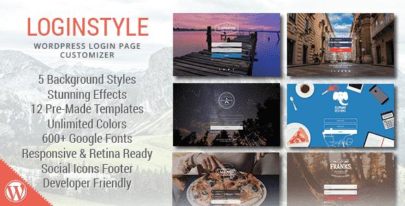 loginstyle - 5+ Best WordPress Custom Login Page Plugins (Premium Collection)