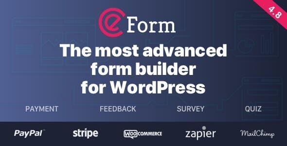 eform - Quform vs FormCraft vs eForm - Which is the Best WordPress Form Builder Plugin?