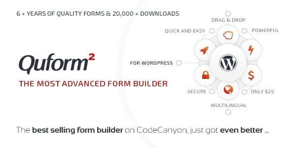 quform - Quform vs FormCraft vs eForm - Which is the Best WordPress Form Builder Plugin?