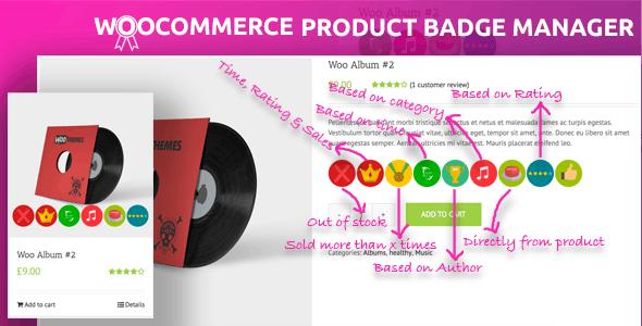 WooCommerce Product Badge Manager