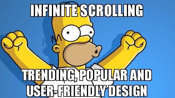 infinite-scrolling-trending