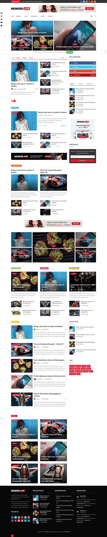 Newser - Best Premium Drag and Drop WordPress Theme
