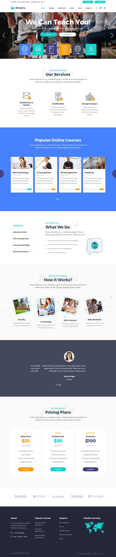 eSmarts - Best Premium LMS WordPress Theme