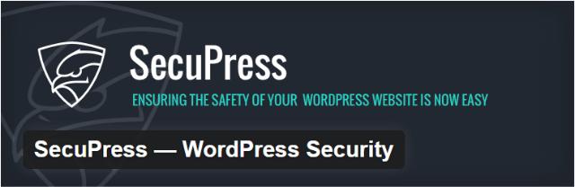 Secupress e1490093500289 - Top 5 Premium WordPress Security Plugins