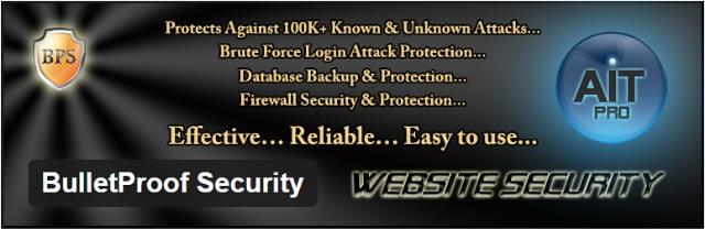 Bulletproof Sucurity - Top 5 Premium iThemes WordPress security plugins