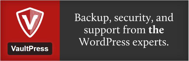 Vaultpress - Top 5 Premium iThemes WordPress security plugins