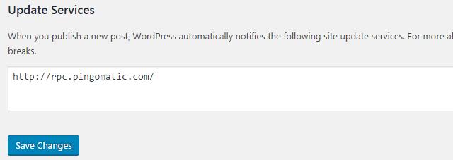 How to configure Writing settings in WordPress website