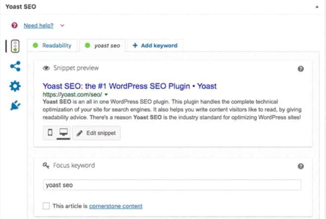 Yoast SEO - Best Tools To Support Your SEO Efforts