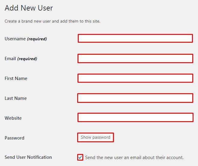 Add a new WordPress admin user. - How do I add a new WordPress admin user?