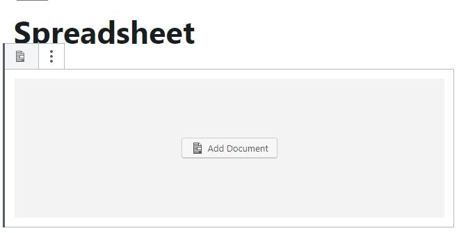 Document Block