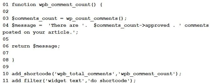 Display The Total Number Of Comments In WordPress... - How To Display The Total Number Of Comments In WordPress