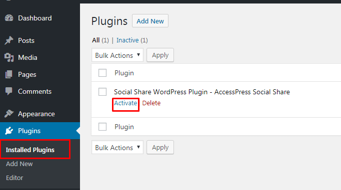 Add social share button5 1 - How to add a social share button on WP website using Social Share WordPress Plugin?
