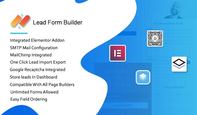 Lead Form Builder Pro - Premium Form Builder Plugin