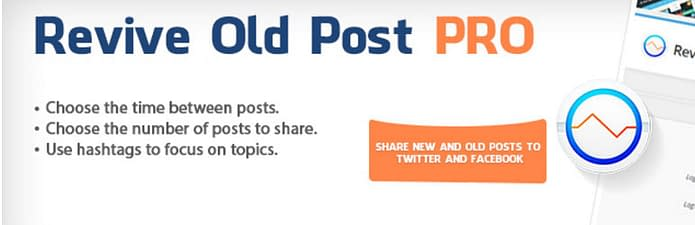 Revive Old Post - Free Auto Post Plugin