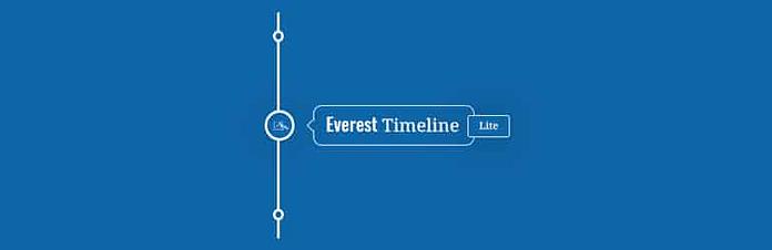 Everest Timeline Lite - Free WordPress Timeline Plugin