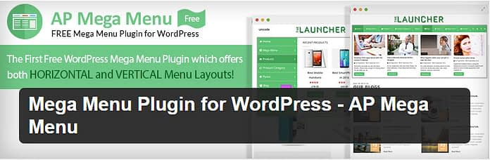 AP Mega Menu - Free WordPress Mega Menu Plugin