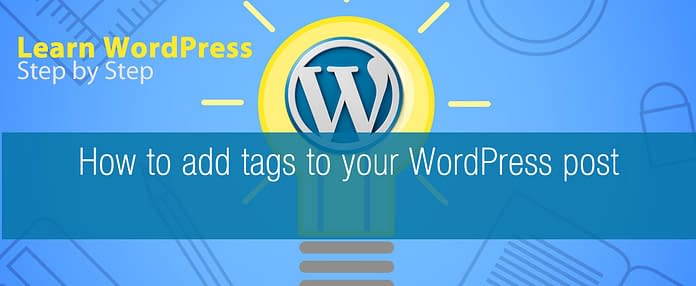 How to add tags to your WordPress post