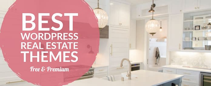 Best WordPress Real Estate Themes - Free & Premium