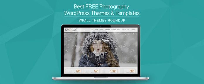 Feature Image - Free Photography WordPress Theme