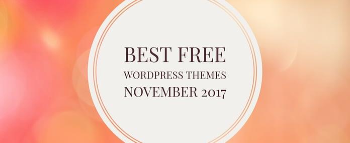 Free WordPress Themes November 2017