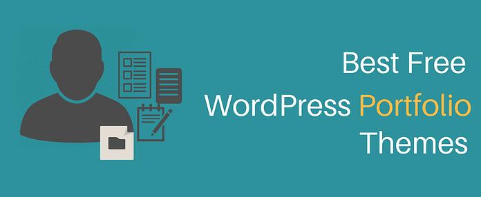 Best Free WordPress Portfolio Themes