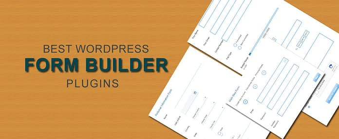WordPress Form Builder Plugins