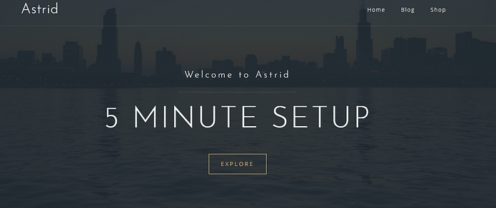 Astrid - Premium Business WordPress Theme