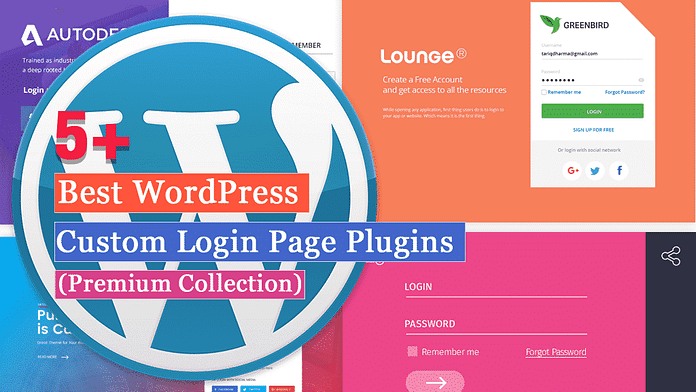 5+ Best WordPress Custom Login Page Plugins (Premium Version)