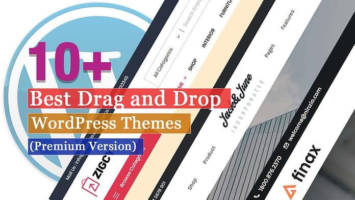 Best Premium Drag and Drop WordPress Themes