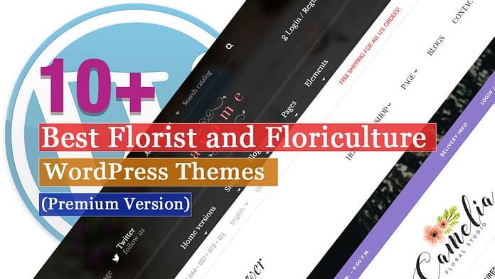 Best Premium Florist and Floriculture WordPress Themes