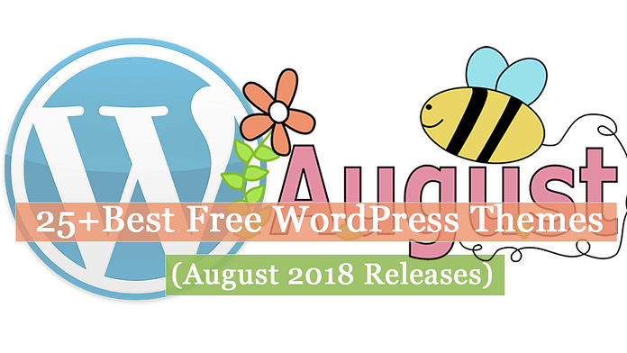 25+ Best Free WordPress Themes August 2018 | WPAll Club
