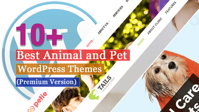 Best Premium Animal and Pet WordPress Themes