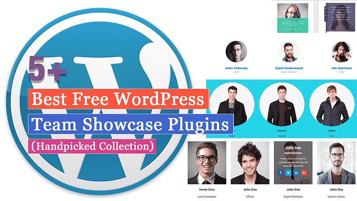 5+ Best WordPress Team Showcase Plugins (Handpicked Collection)
