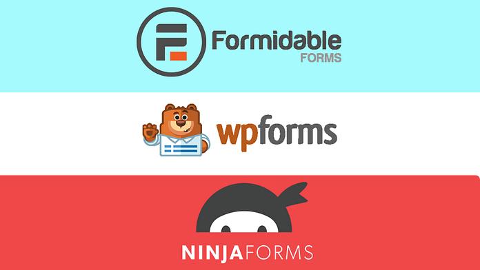 WPForms vs Formidable Forms vs Ninja Forms – Which is the Best