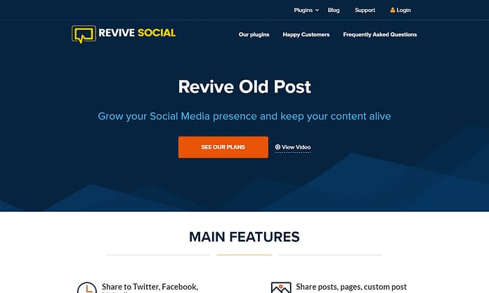 Revive Old Post - Premium WordPress Social Auto Post Plugin