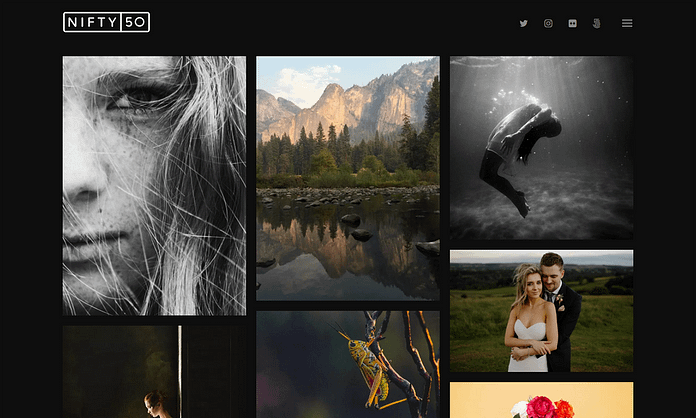 Niftyfifty - WordPress Photography Theme