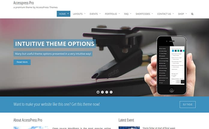 AccessPress Pro - Premium Multipurpose WordPress Theme