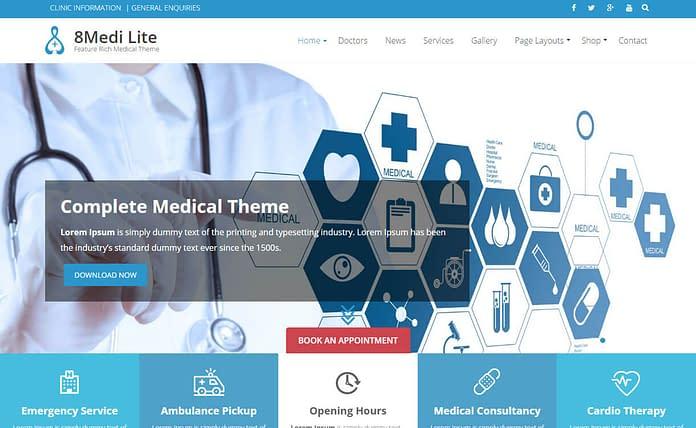 8medi-lite-free-WordPress-theme